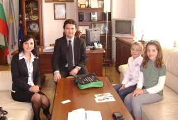 Наши ученици се срещнаха с кмета