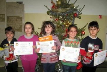 Най-добрите в Коледния математически турнир