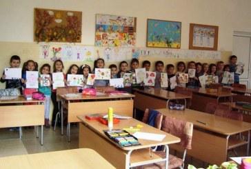 Децата от подготвителната група подготвят изненади за празниците