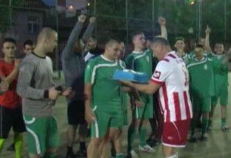 Футбол: Абитуриенти – Учители 2017.05.10