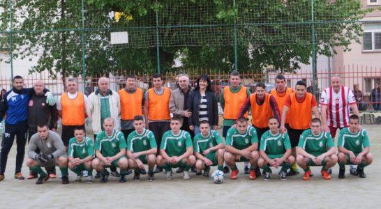 2017.05.10 Футбол: Абитуриенти – Учители