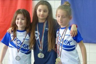 Магдалена Недушева спечели три медала от ХІІ-я турнир по плуване за Купата на Община Козлодуй.