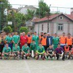 Футбол: Абитуриенти – Учители  и приятели 2018.05.10