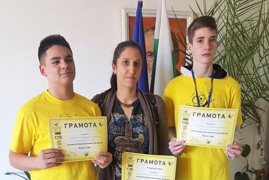 Достойно представяне на регионалното състезание Spelling Bee във Велико Търново 23.03.2019
